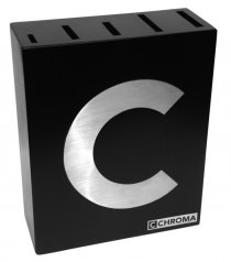 P-14C CHROMA Type 301 Knife-Block solid wood