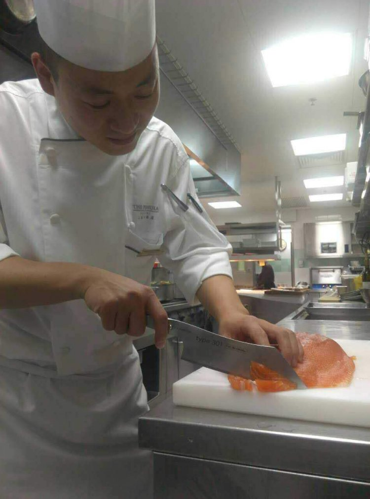 Peter Lin - Bocuse d'or China 2016/17